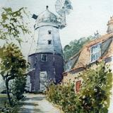 Impington Mill - watercolour