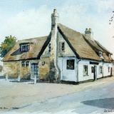 The King Bill, Histon, Cambridge - watercolour