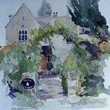 The Village, Orton Longueville, Peterborough - watercolour
