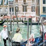 venice 3 - oil on boxed canvas