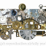 locomotive - watch parts on board