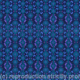 Carpet geometric design - Digital manipulation of gouache design on paper