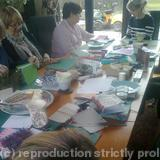 ladies at coton workshop april 13 -