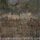 Marshland Cathedral - Oil and bitumen