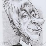 Edd's Heads: Paul Weller - Pencil on paper