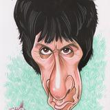 Edd's Heads: Johnny Marr - Mixed media