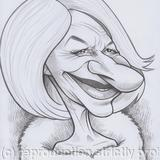 Edd's Heads: Helen Mirren - Pencil on paper