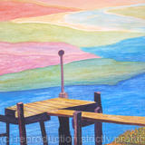 Landing Stage - Watercolour (available)