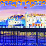 Palace Pier - Watercolour & Print (available)