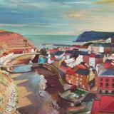 Staithes, North Yorkshire - Gouache