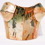 Mathrobatics Corset - enamel on copper